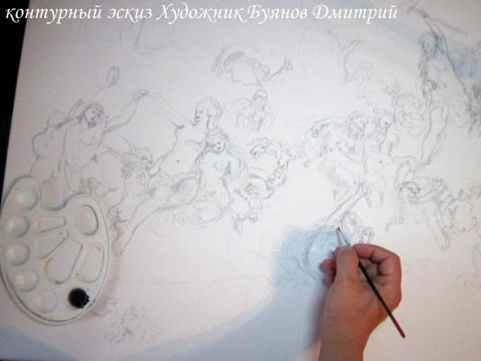 Дмитрий Юрьевич Буянов. Эскиз