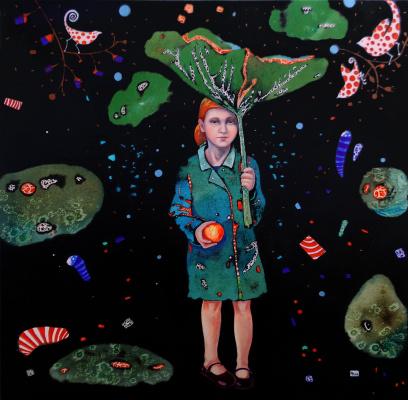 Natalia Pastushenko. Umbrella