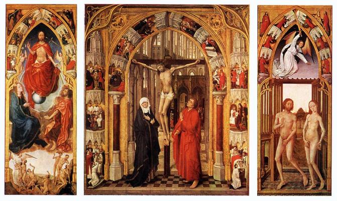 Рогир ван дер Вейден. Триптих Искупление грехов