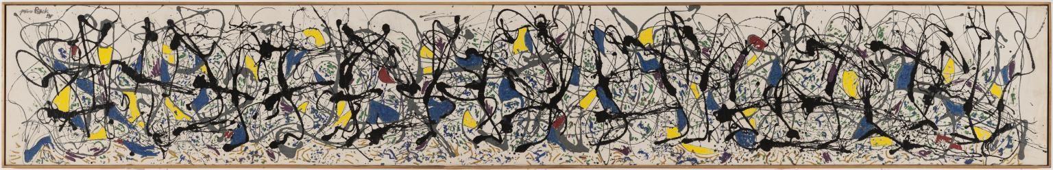 Jackson Pollock. Summertime: Number 9A