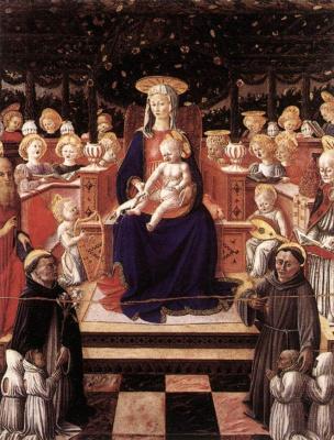 Джованни Боккати. Дева и дитя со святыми