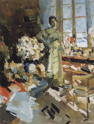 Konstantin Korovin. Winter sun