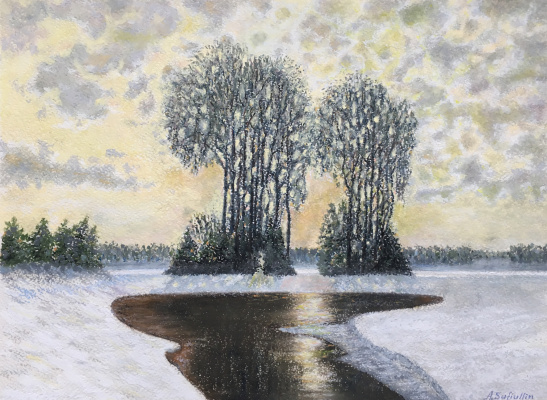 Albert Safiullin. At the end of winter