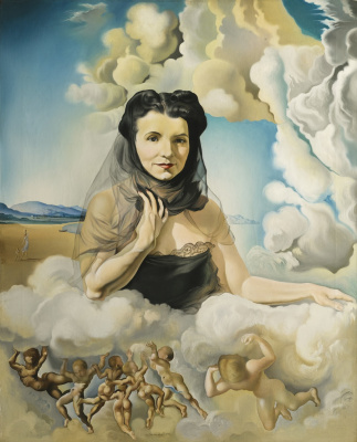 Salvador Dali. Portrait of Mrs. Ortiz-Linares