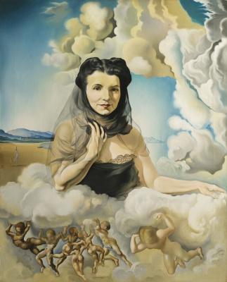 Salvador Dali. Portrait of Mrs. Ortiz-Linares