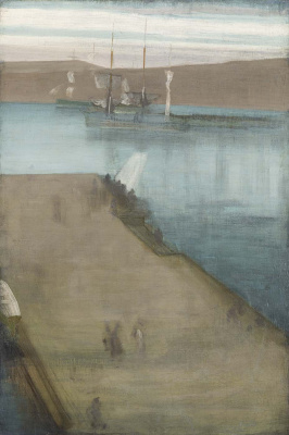 James Abbot McNeill Whistler. The Harbour Of Valparaíso