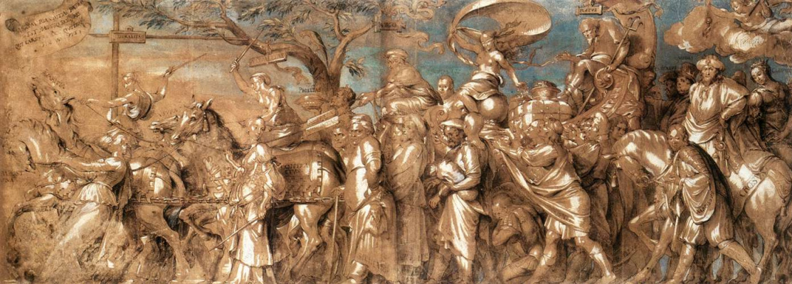 Hans Holbein The Younger. The triumph of wealth