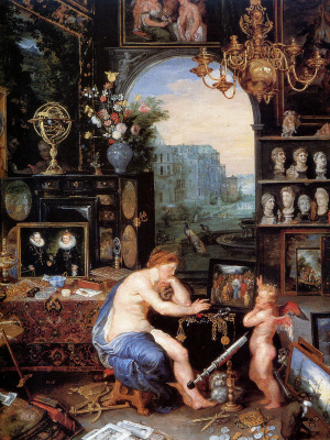 Jan Bruegel The Elder. Vision