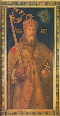 Альбрехт Дюрер. Император Карл Великий