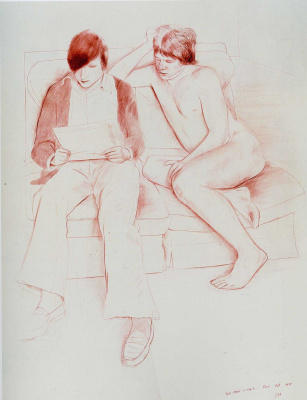 David Hockney. Drawing