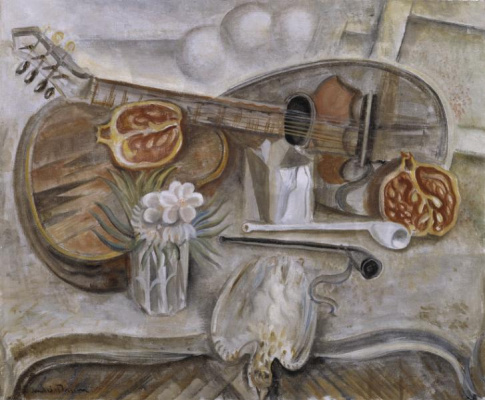 Andre Masson. Round table in the Studio