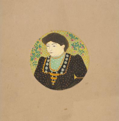 Kazimir Malevich. Female portrait (bust)