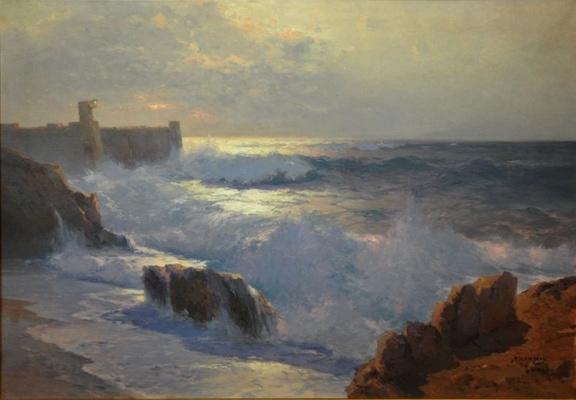 Алексей Васильевич Ганзен. Крепость у моря