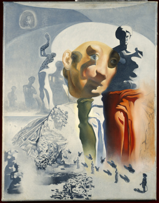 "Salvador Dali. The oil sketch for the painting ""the Hallucinogenic toreador"""