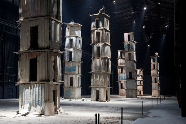 Anselm Kiefer. Seven heavenly palaces