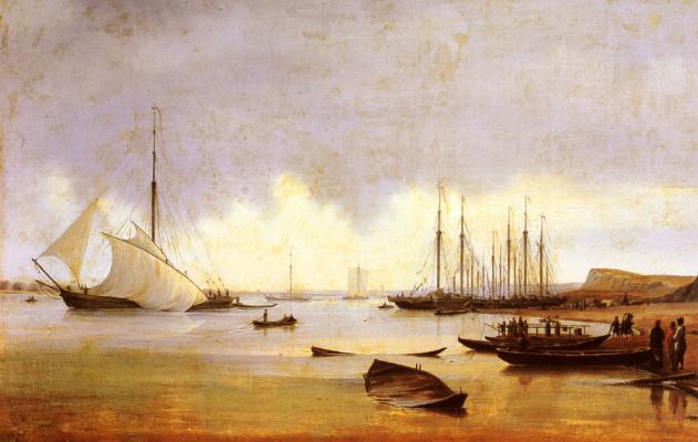 Рыболовные суда у пристани