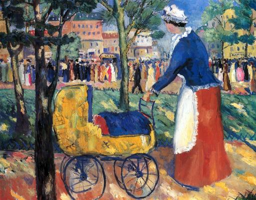 Kazimir Malevich. Boulevard