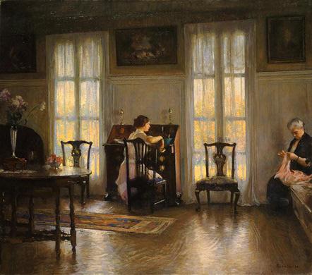 Эдмунд Чарльз Тарбелл. Мама и Мери
