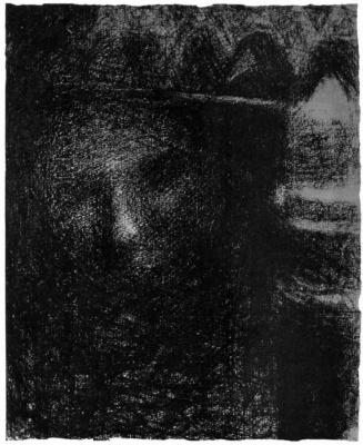 Georges Seurat. Lamp