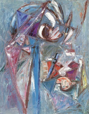 Lee Krasner. The drawing of the image