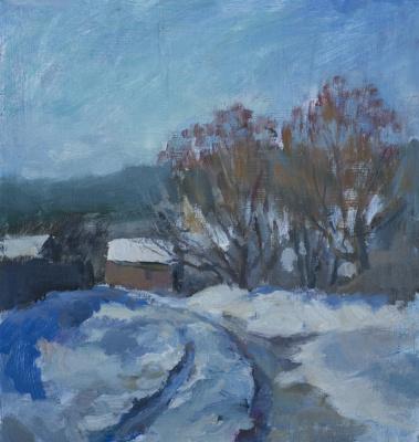 Tanika Yezhova. Winter