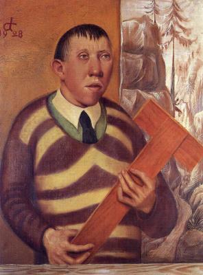 Otto Dix. Portrait of the painter Franz Radziwill
