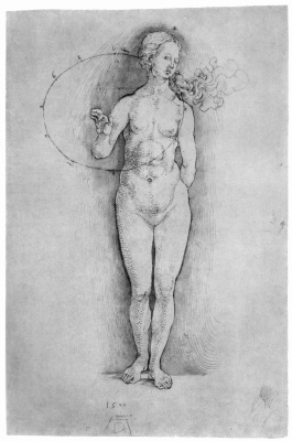 Albrecht Durer. Nude