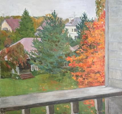 Irina Vorobyova. Autumn, sketch