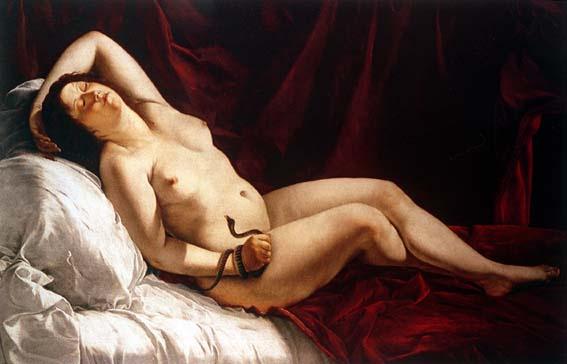 Orazio Gentileski. Cleopatra