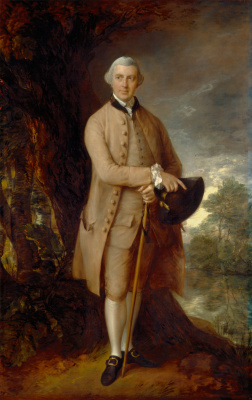 Thomas Gainsborough. William Johnstone Pulteney, fifth Lord Pulteney