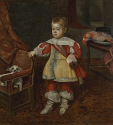Juan Batista Martinez del Maso. Portrait of Don Philip Prospero