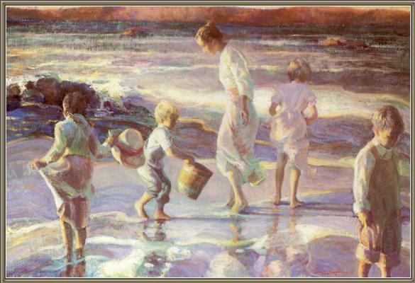 Дон Хатфилд. Развлечения на берегу моря