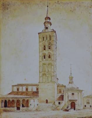 Roman Bondarenko. Belfry of San Esteban