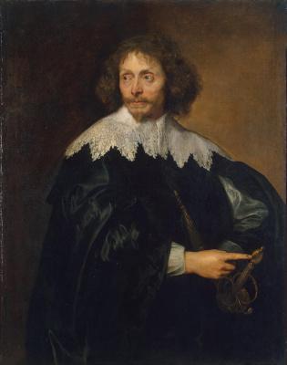 Anthony van Dyck. Portrait of sir Thomas Chaloner
