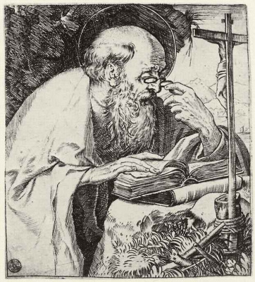 Annibale Carracci. Saint Jerome