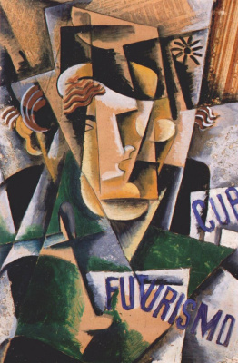 Love Sergeevna Popova. Portrait of the futurist