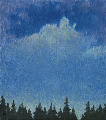 Giovanni Giacometti. Moonlight