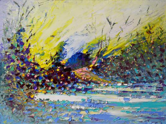 Vadim Anatolyevich Stolyarov. Spring sun concept