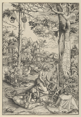 Lucas Cranach the Elder. Saint Jerome