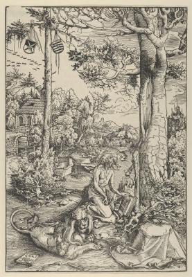 Лукас Кранах Старший. Святой Иероним