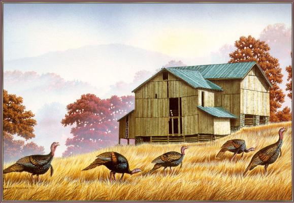 Роберт Флауэрс. Осенний пейзаж