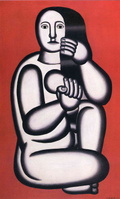 Фернан Леже. Сидящая женщина