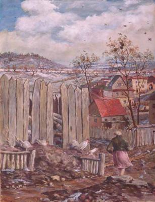 Борис Петрович Свешников. Таруса