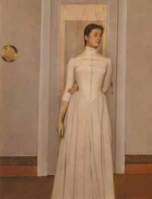 Fernand Knopf. Portrait of Margarita Knoopf