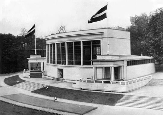 Сергей Николаевич Антонов. Павильон Латвии EXPO-1935