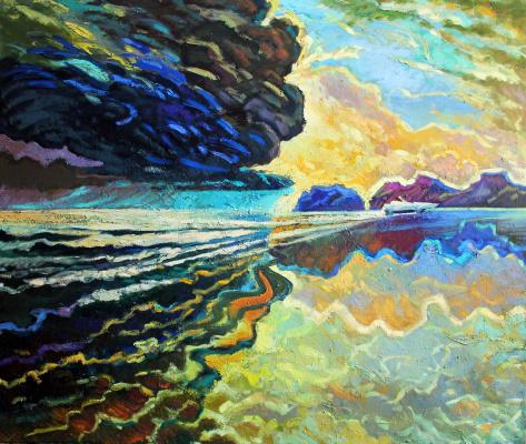 Oleg Vasilyevich Nosyrev. Storm cloud