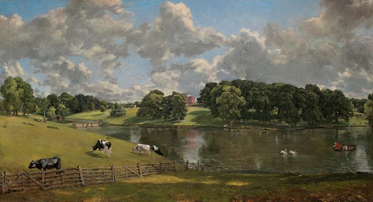 John Constable. Wivenhoe Park, Essex