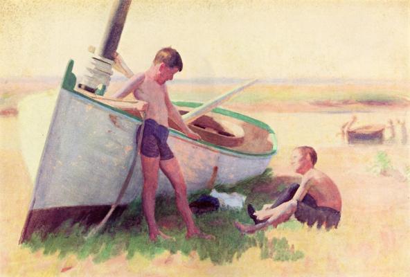 Томас Поллок Аншутц. Мальчики