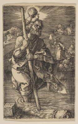Albrecht Durer. Saint Christopher