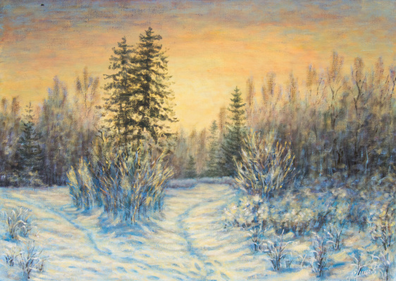 Valery Levchenko. No. 263 Frosty Morning